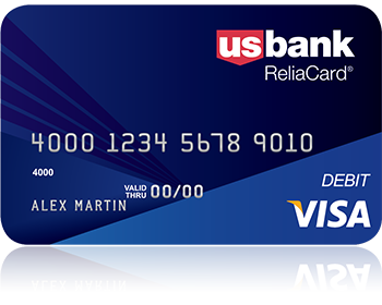 the reliacard is a reloadable prepaid debit card issued by us bank - Reloadable Prepaid Debit Card